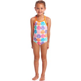 Funkita Printed One Piece Badpak Peuters, cotton candy